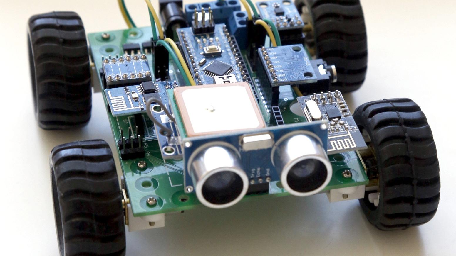 роботика с аrduino